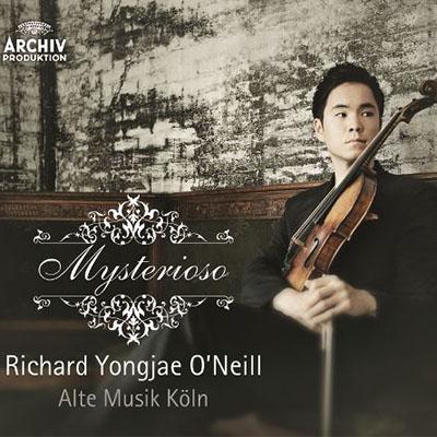 CD Cover, Archiv Produktion, Mysterioso, Richard Yongjae O´Neill/Alte Musik Köln