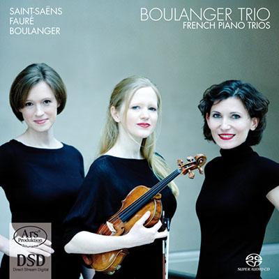 CD Cover, ARS Produktion, French Piano Trios, Boulanger Trio