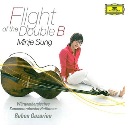 CD Cover, Deutsche Grammophon, Flight of the Doubel B, Minje Sung/Württembergisches Kammerorchester Heilbronn