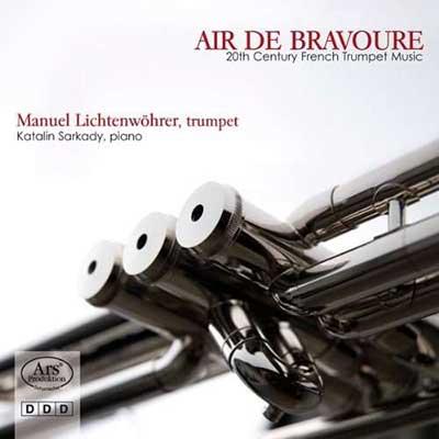 CD Cover, ARS Produktion, Air de Bravoure, Manuel Lichtenwährer/KatalinSarkody