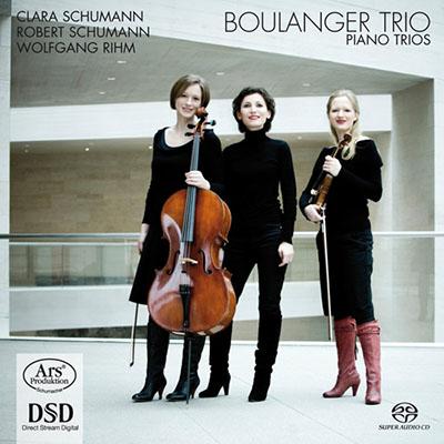 CD Cover, ARS Produktion, Piano Trios, Boulanger Trio