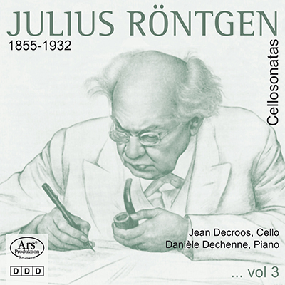 CD Cover, ARS Produktion, Julius Röntgen, Jean Decroos/Danièle Dechenne
