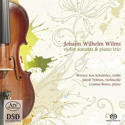 CD Cover, ARS Produktion, Johann Wilhelm Wilms, Werner von Schnitzer/Jakub Tylman/Cosmin Bocru