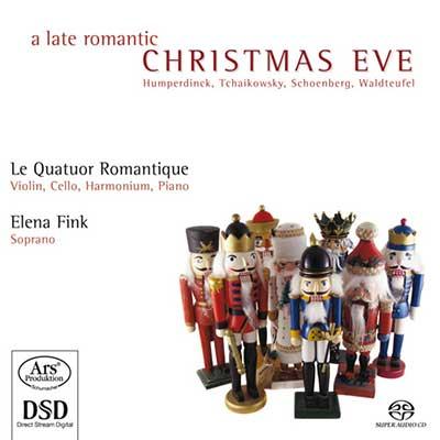CD Cover, ARS Produktion, A late romantic Christmas Eve, Le Quatuor Romantique/Elena Fink