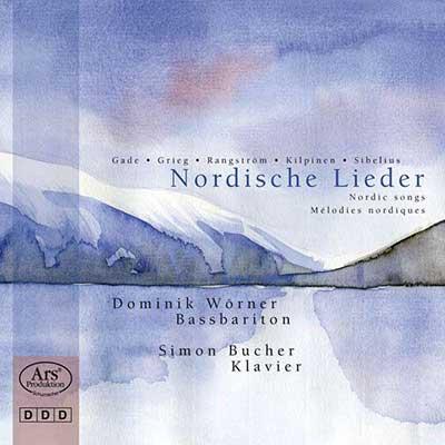 CD Cover, ARS Produktion, Nordische Lieder, Dominik Wörner/Simon Bucher