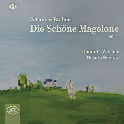 CD Cover, ARS Produktion, Die Schöne Magelone, Donimik Wörner/Masato Suzuki