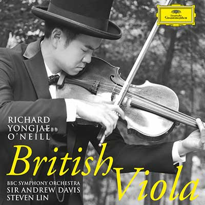CD Cover, Deutsche Grammophon, British Viola, Richard Yongjae O´Neill/BBC Symphony Orchestra