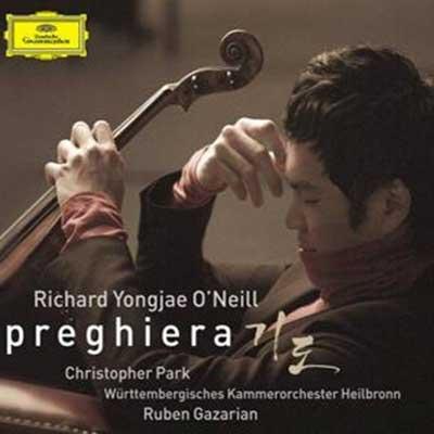 CD Cover, Deutsche Grammophon, Preghiera, Richard Yongjae O´Neill/Württembergisches Kammerorchester Heilbronn