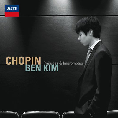 CD Cover, DECCA, Chopin, Ben Kim