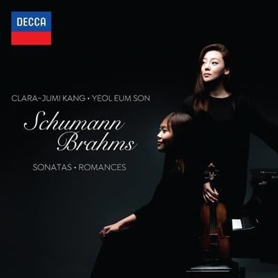 CD Cover, DECCA, Schumann & Brahms, Clara-Jumi Kang/Yeol Eum Son