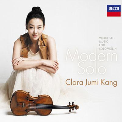 CD Cover, DECCA, Modern Solo, Clara Jumi Kang