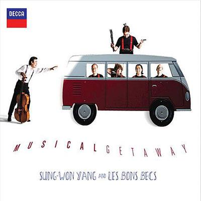 CD Cover, DECCA, Musical Getaway, Sungwon Yang/Les Bons Becs
