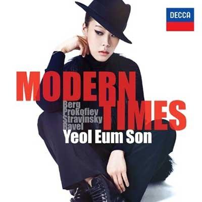 CD Cover, DECCA, Modern Times, Yeol Eum Son