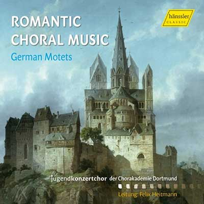 CD Cover, hännsler CLASSIC, Romantic Choral Music