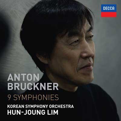 CD Cover, DECCA, Anton Bruckner 9 Symphonies, Korean Symphony Orchestra/Hun-Joung Lim